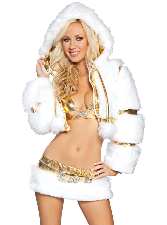 разминки, когда красивые девушки новогодних костюмах вариант для покупки
