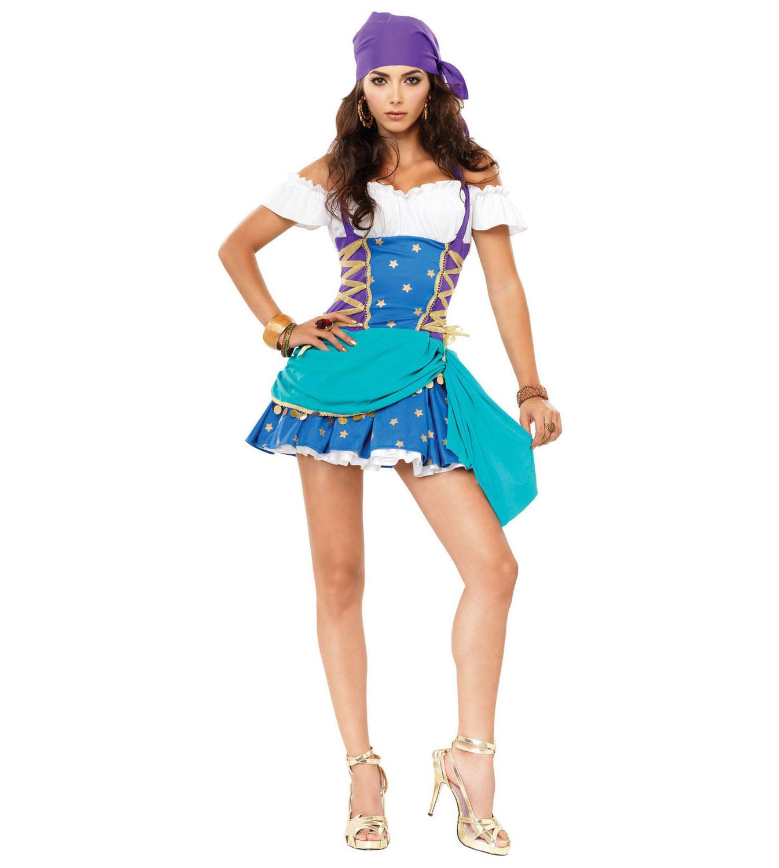 Карнавальный костюм цыганки — Купить карнавальный костюм ... - photo#26