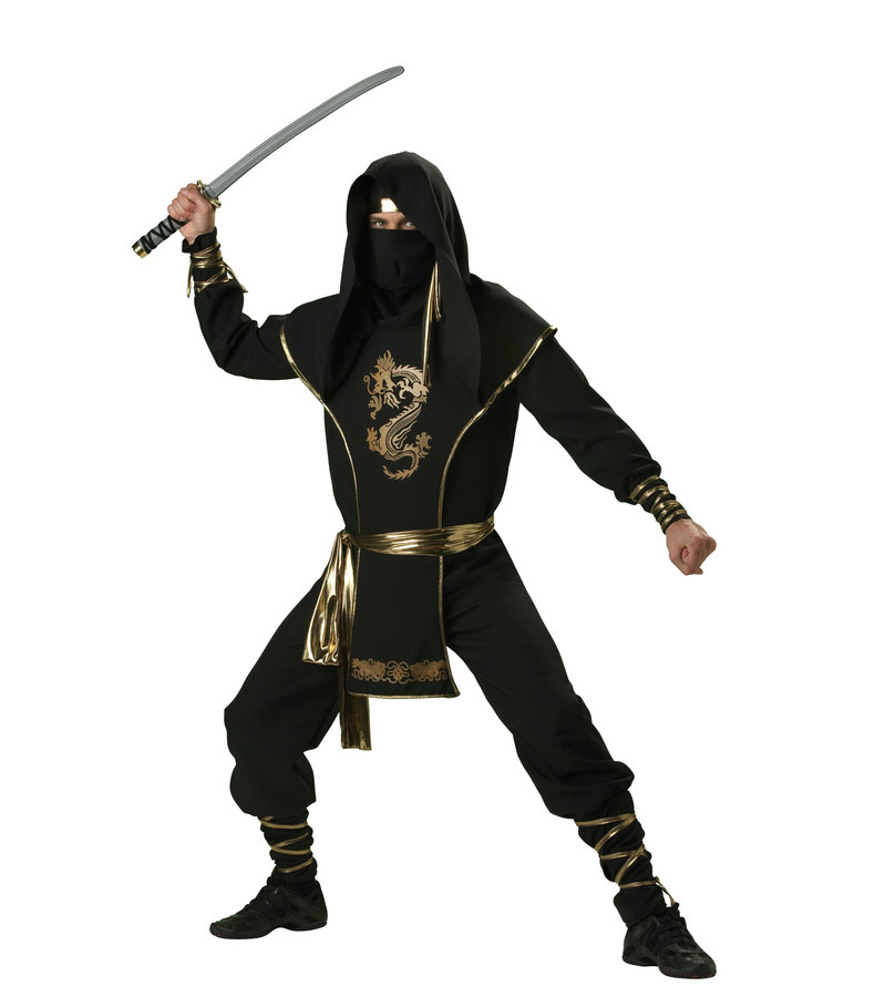 bully черный костюм ниндзя
